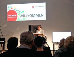 Eröffnung der Tagung im Januar 2017